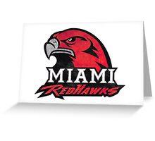 Miami University Tie Dye Logo Greeting Card