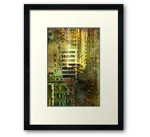 """As the sun goes down"" San Francisco Framed Print"