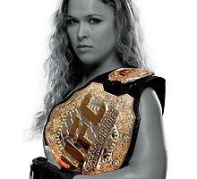 Ronda Rousey by KevHarvey
