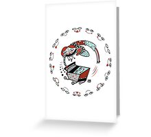 Bon Voyage supermarche!  Greeting Card