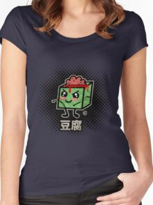 Tofu Zombie Women's Fitted Scoop T-Shirt