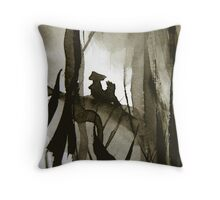 witnesses... Throw Pillow