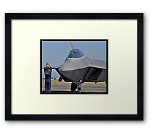 Pride of the Air Force Framed Print