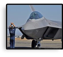 Pride of the Air Force Canvas Print