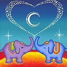 Elephant soul mates by Elspeth McLean
