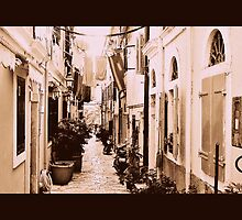 A Side street In Old Corfu Town... by fruitcake
