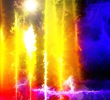 Flare Abstract by Christopher Pottruff