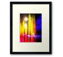Flare Abstract Framed Print
