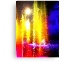 Flare Abstract Canvas Print