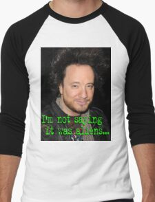 Giorgio Tsoukalos - Aliens Men's Baseball ¾ T-Shirt