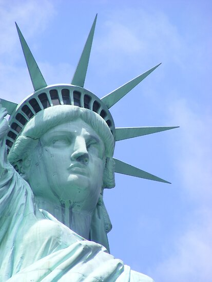 Liberty Enlightening the World by Kahlia Huddleston