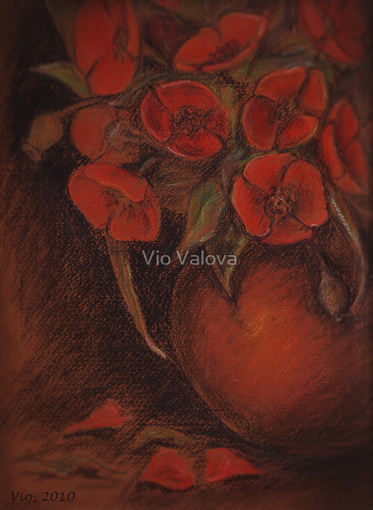 Red Poppies by VioDeSign
