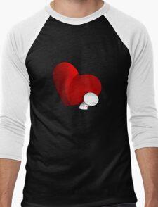 Heavy Love - T-Shirt Men's Baseball ¾ T-Shirt