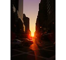 Sunset on 7th Avenue Photographic Print