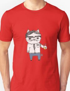 Nerdy Cat T-Shirt
