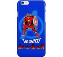 The Greatest American Avenger iPhone Case/Skin