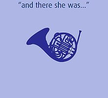 Blue French Horn - How I Met Your Mother by hscases