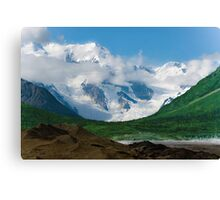 In the valley Canvas Print