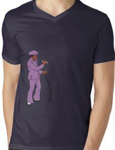 Diggin' on James Brown Mens V-Neck T-Shirt