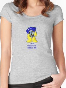 Useless Air Man Women's Fitted Scoop T-Shirt