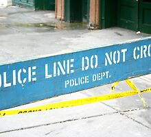 Police line do not cross by emmaart