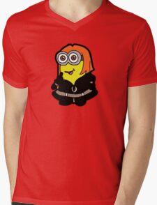 Minvengers - Yellow Widow Mens V-Neck T-Shirt