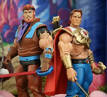 Masters of the Universe Classics - Sea Hawk & Bow by GskullWarrior