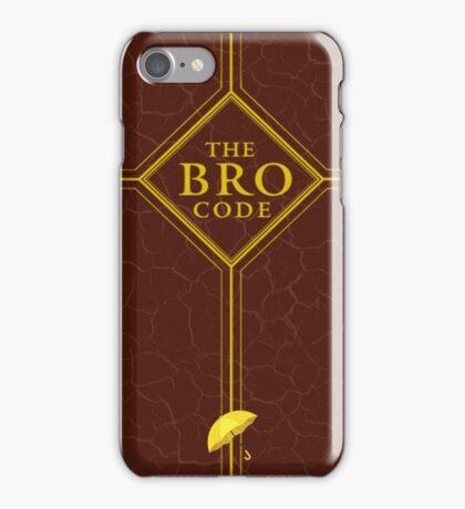 The Bro Code - How I Met Your Mother iPhone Case/Skin