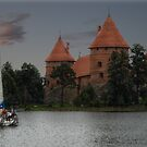 Castle of TRAKAI, sail by Antanas