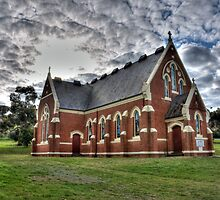 church at dookie by Leigh Monk