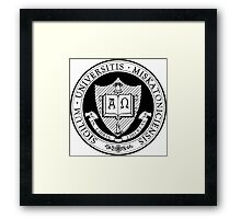 Miskatonic University Seal Framed Print