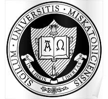 Miskatonic University Seal Poster