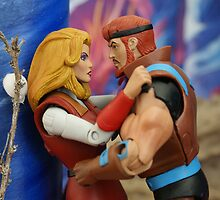 Masters of the Universe Classics - Sea Hawk & Adora by GskullWarrior