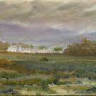 Grey Day, Millisle by Les Sharpe