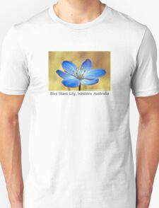 Blue Stars Lily Unisex T-Shirt