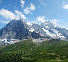 Eiger & Monch II by AwayLaughing