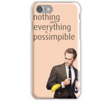 Possimpible - How I Met Your Mother iPhone Case/Skin