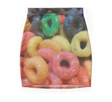 Fruit Loops Mini Skirt
