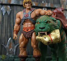 Masters of the Universe Classics - He-Man & Battle Cat by GskullWarrior