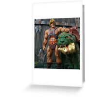 Masters of the Universe Classics - He-Man & Battle Cat Greeting Card