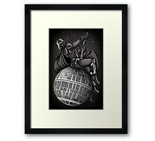 Wrecking Star - Print Framed Print
