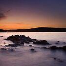 Shades of a sunset by Saverio Savio