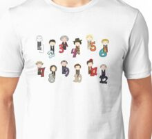 Count With the Doctors Unisex T-Shirt