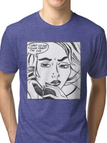 Mean Girls meets Roy Lichtenstein. Tri-blend T-Shirt
