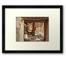 Venice in reflection Framed Print