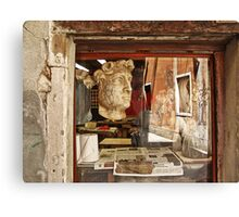 Venice in reflection Canvas Print