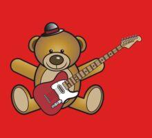 Guitar Teddy by jean-louis bouzou