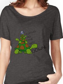 Turtles all the way down! Women's Relaxed Fit T-Shirt