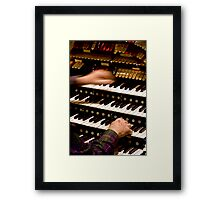 Flying Fingers Framed Print