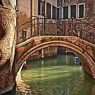 Venice - bridge by Luisa Fumi